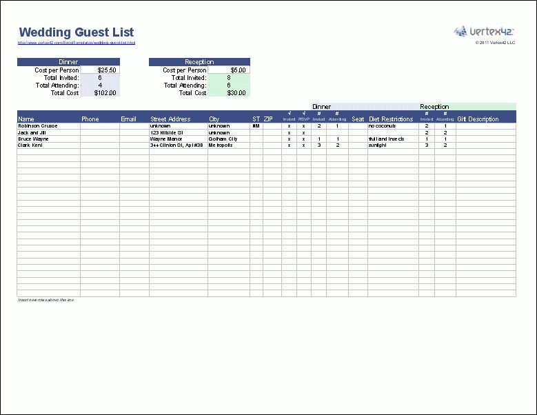 Checklist Templates - Create Printable Checklists with Excel