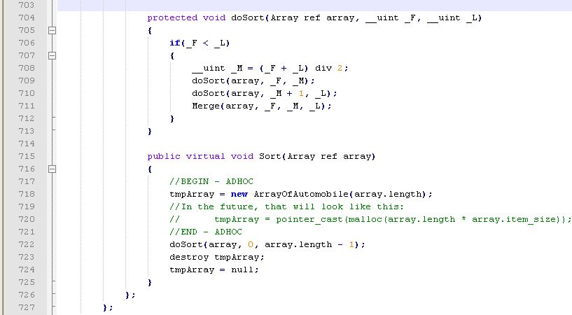 Complex Algorithms | The H++ Programming Language