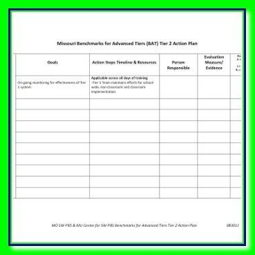 Excel Action Plan Template Tactical Marketing And Sample Business ...