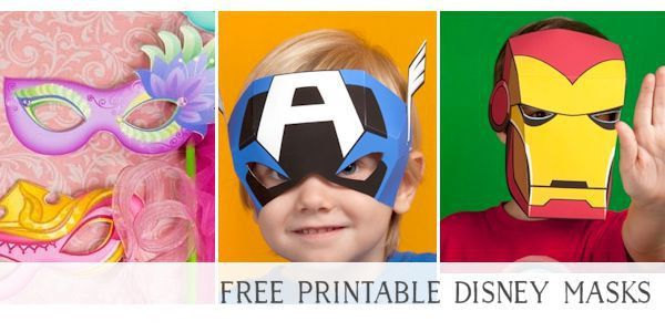 73 FREE Printable Masks for Kids