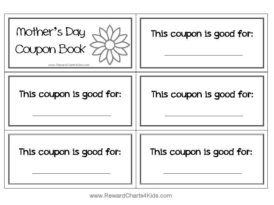 Coupon book template / Spotify coupon code free