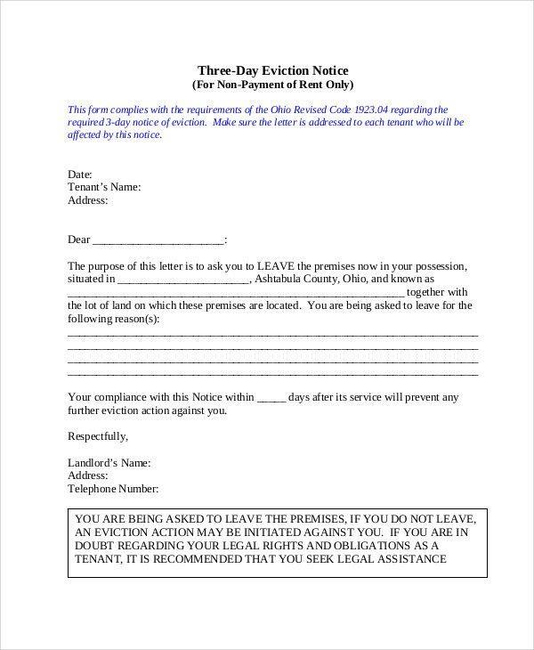 24+ Sample Notice Templates | Free & Premium Templates