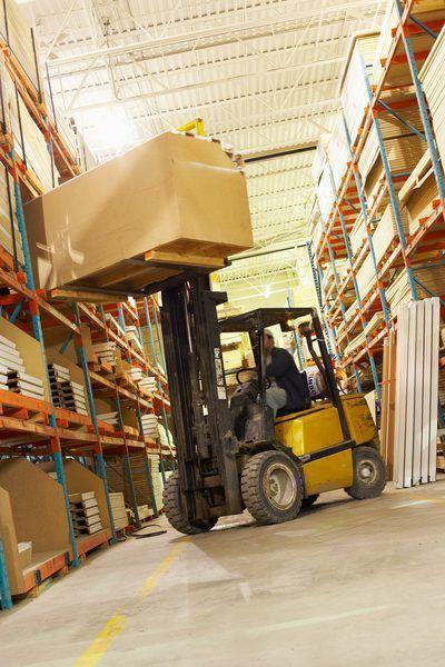 Forklift Operator Description - Woman
