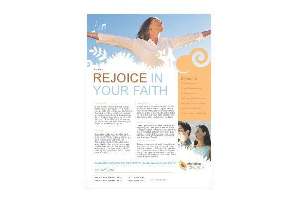 Christian Church 2 Print Template Pack from Serif.com