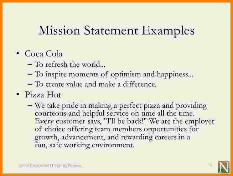 Team Mission Statement Examples | World of Examples