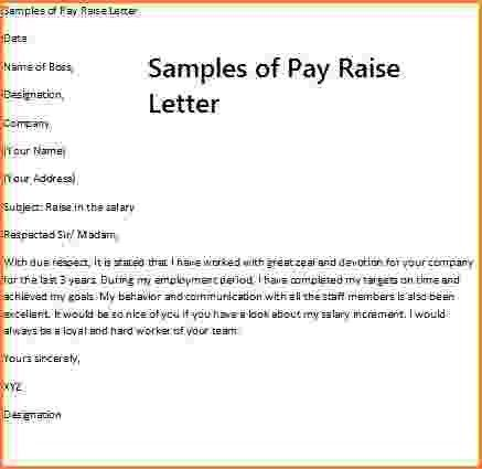 7+ how to write a salary increase proposal | Simple salary slip