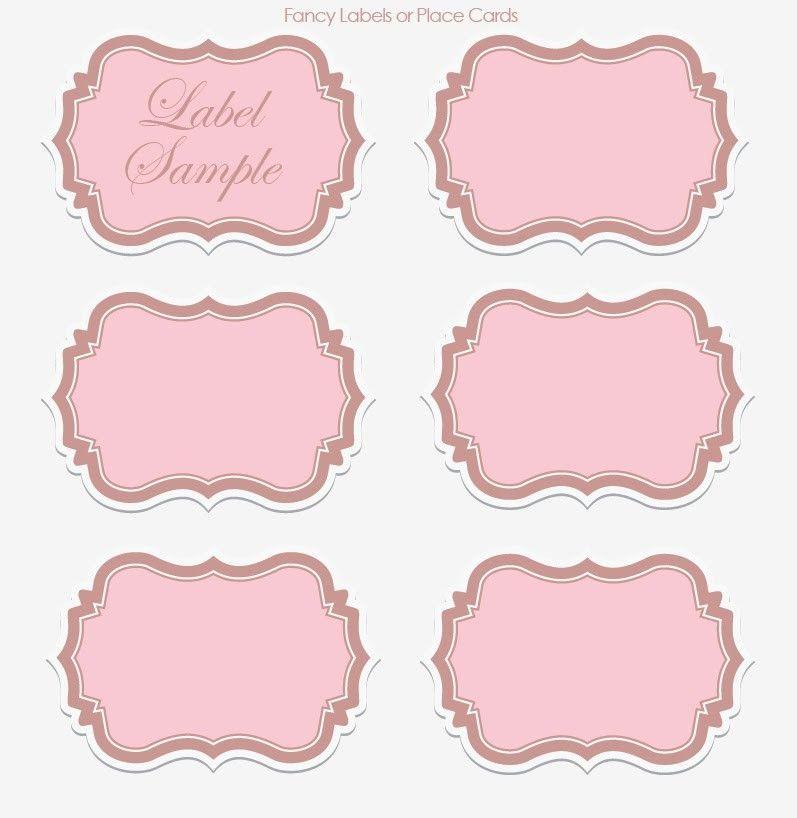 label templates | Wedding Wednesday: DIY Printable Vintage ...