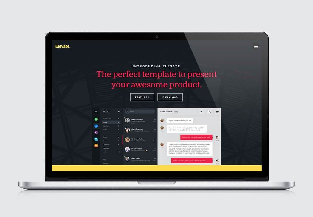Free Landing Page Templates Crafted Using HTM5/CSS3 | Styleshout