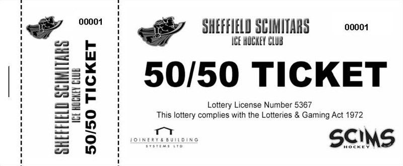 50 50 Tickets · 50 50 Raffle Ticket Printers UK