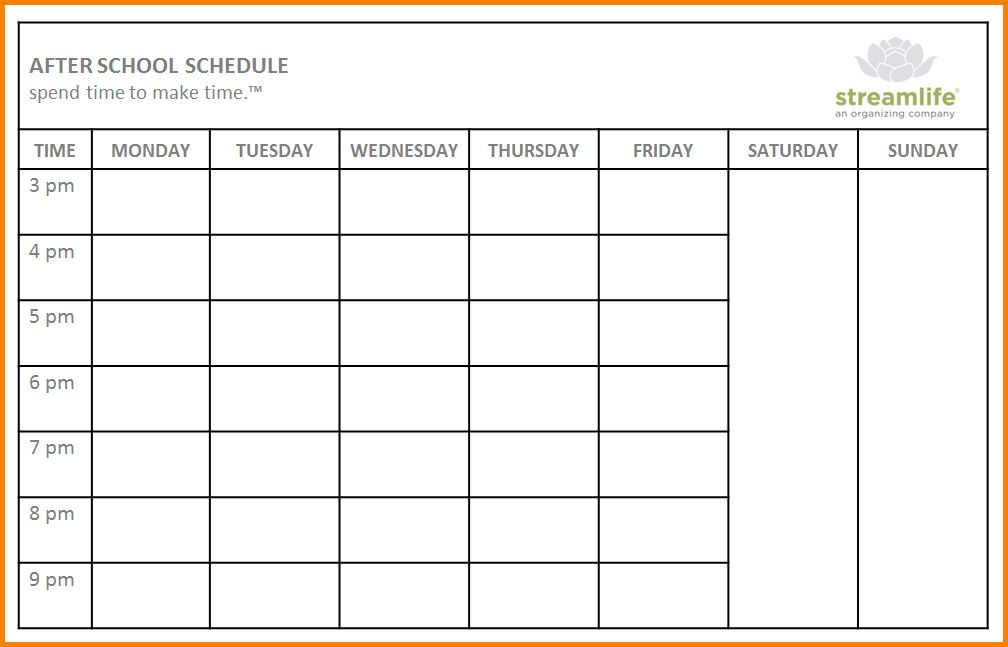 School Schedule Templates.school Schedule Timetable Template 3.png ...