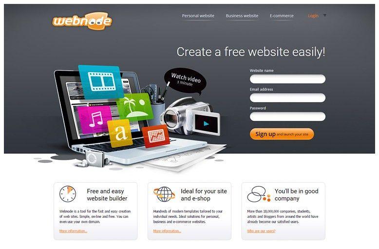 TOP 10 free website builders