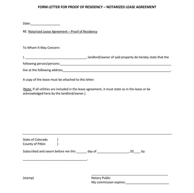 25+ Notarized Letter Templates - Sample Letters in Word, PDF Format