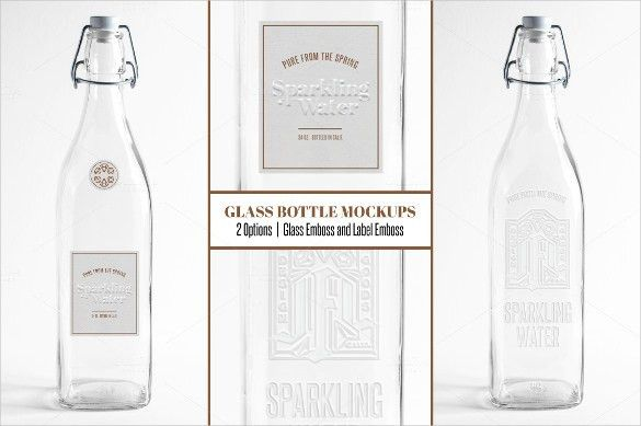 Water Bottle Label Template – 28+ Free PSD, EPS, AI, Illustrator ...