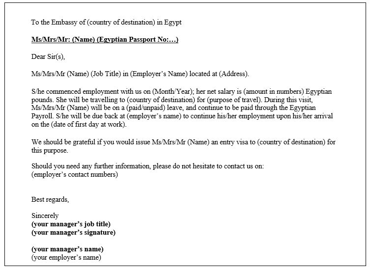 Awesome Collection of Sample Cover Letter Tourist Visa Application ...