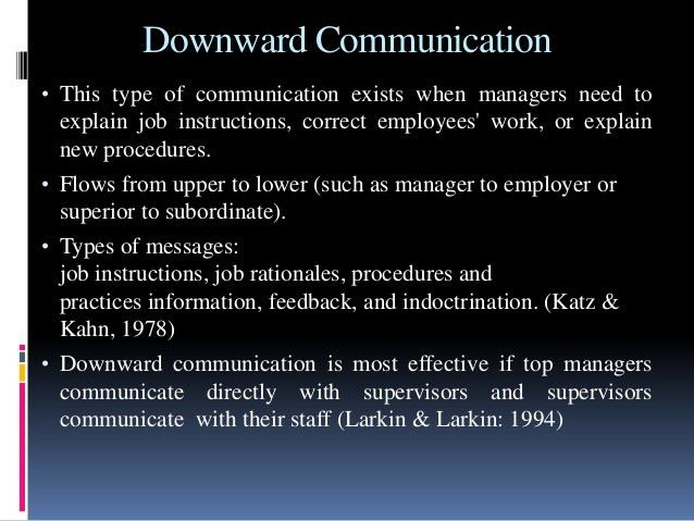 The office grapevine & management communication