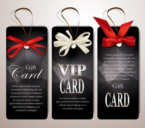 Luxury club cards design elements vector 03 - Vector Card free ...