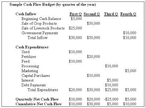 Understanding Cash Flow Analysis | Agricultural Marketing Resource ...