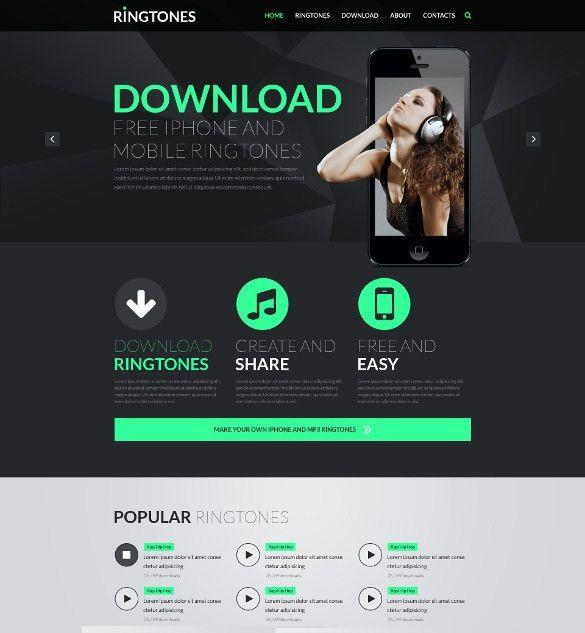 30+ Music HTML5 Themes & Templates | Free & Premium Templates