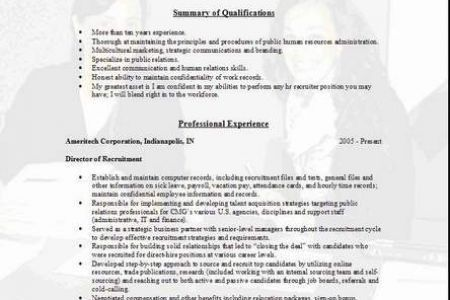 Resume Cover Letter Recruiter - Reentrycorps
