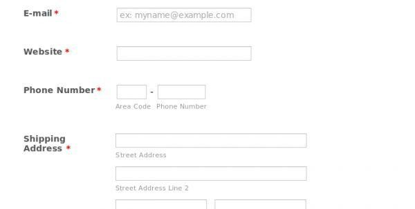 Name Card Form Business Card Order Form Template Business Cards ...