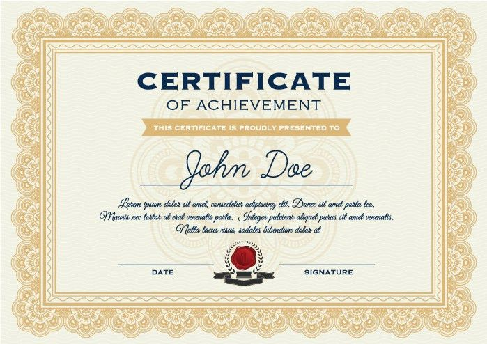 High School Diploma Template With Seal - Free Printables!!