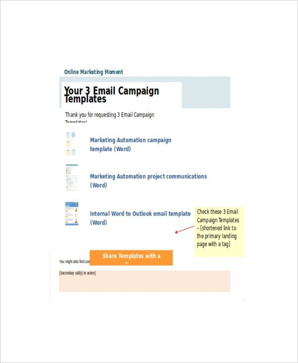 Marketing Campaign Template – 10+ Free PSD, Word, PDF Documents ...