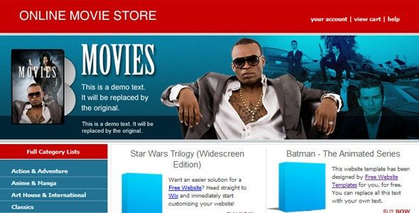 20 Free and Premium eCommerce/Shop HTML Website Templates And ...
