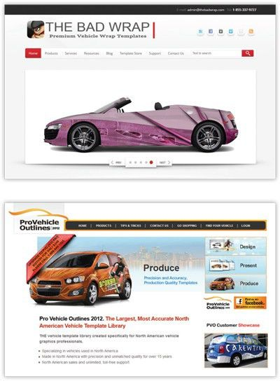 Let's Talk Shop: Vehicle Wrap Templates | Sign & Digital Graphics