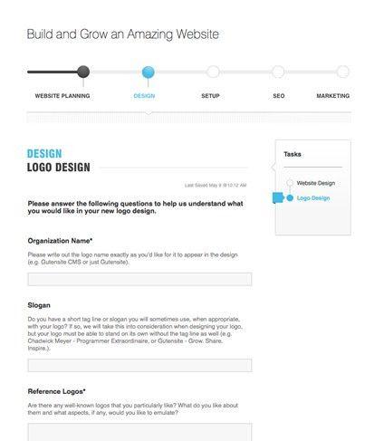 Logo Questionnaire | Gutensite - Best Website Design and CMS
