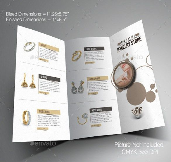 21+ Jewelry Brochure Templates - Free PSD, EPS, AI, InDesign, Word ...