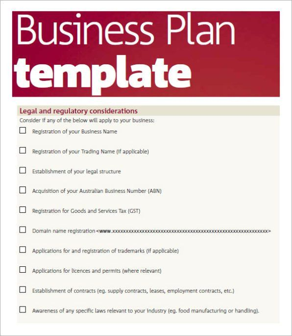 Business Plan Template Word Excel | Calendar Template Letter ...