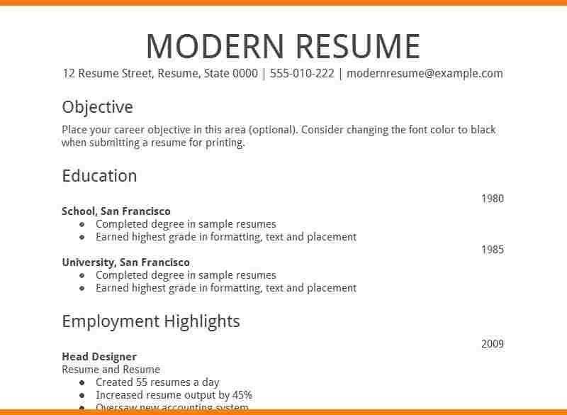 Download Google Resume Template | haadyaooverbayresort.com