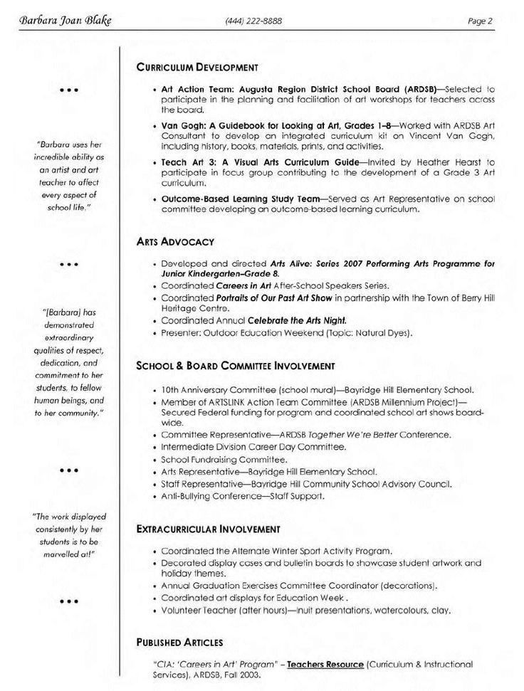 21 best resume and cover letter images on Pinterest | Teacher ...
