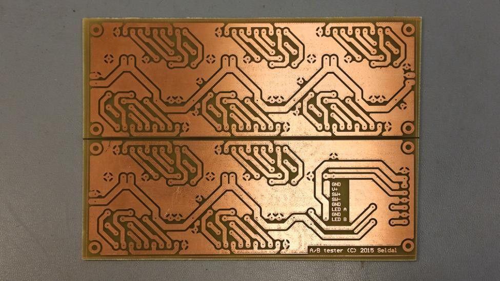 Byggetråd: 10-kanals A-B tester m/XLR