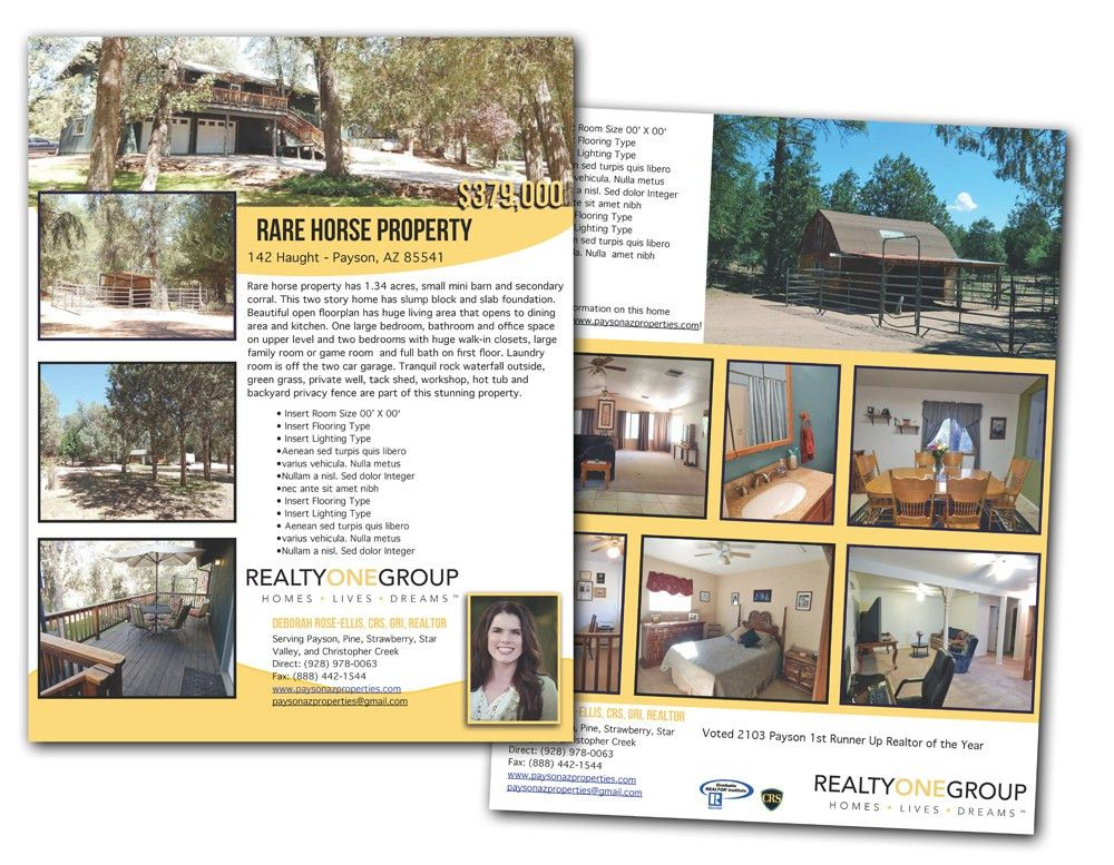 75 best Flyer/Brochure Design - Real Estate images on Pinterest ...