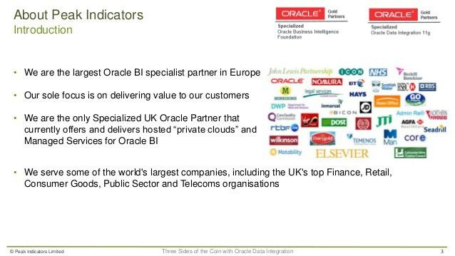 Three Sides of the Coin with Oracle Data Integration 12c - ODI, OGG, …