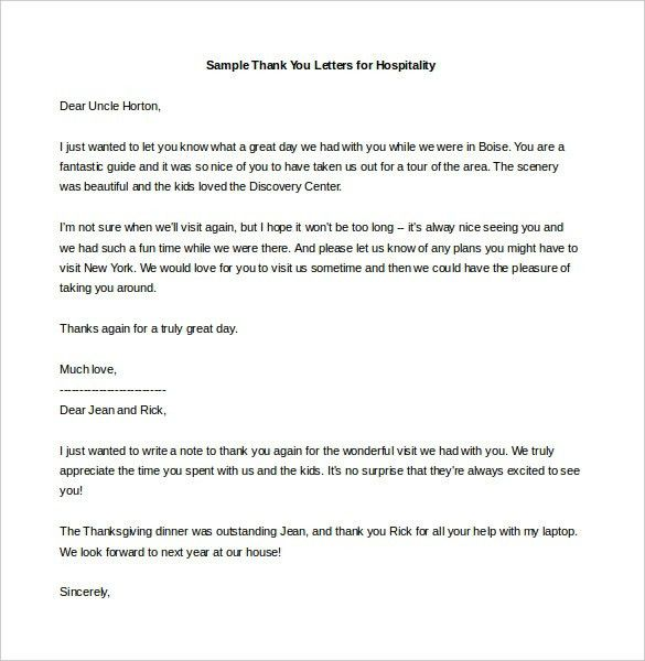 Thank You Letters To Soldiers Printable Pdf Format Sample ...