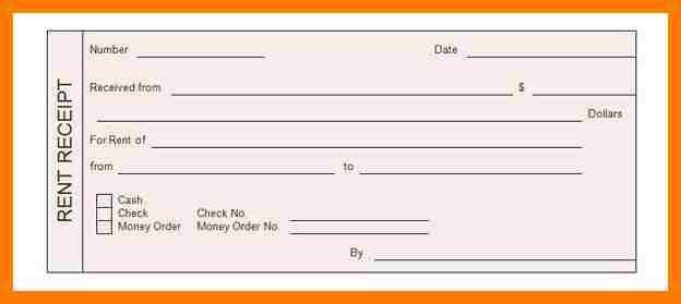 3+ rental receipts format | park-attendant