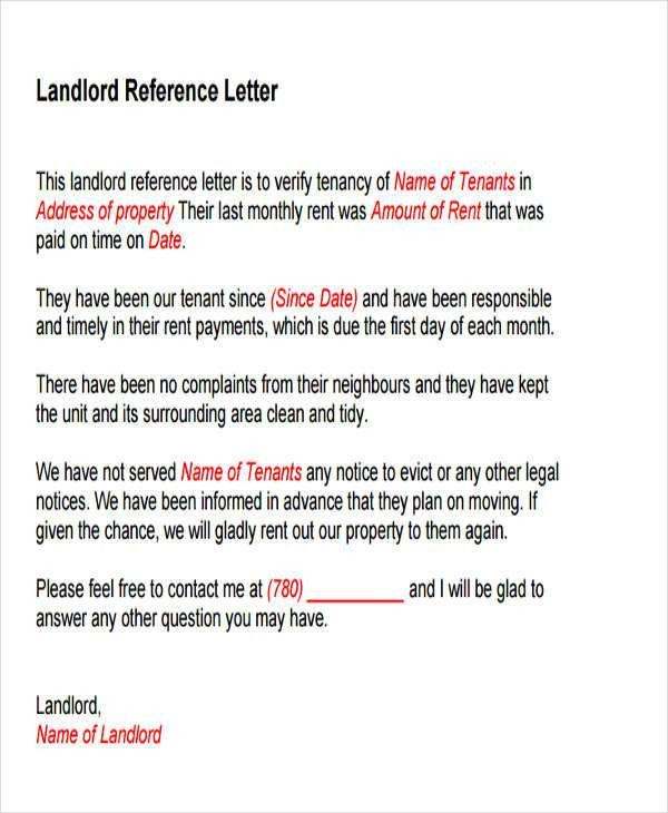 Landlord Letter Templates - 5+ Free Sample, Example Format ...