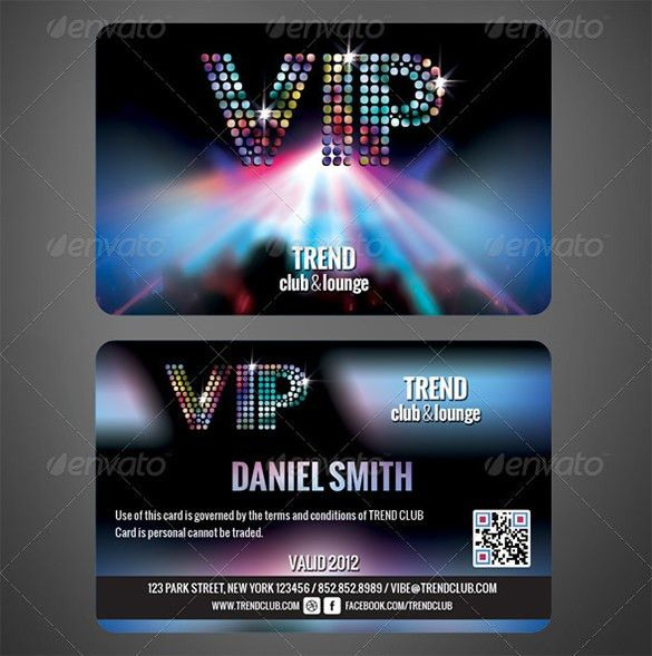 Membership Card Template – 23+ Free Sample, Example Format ...