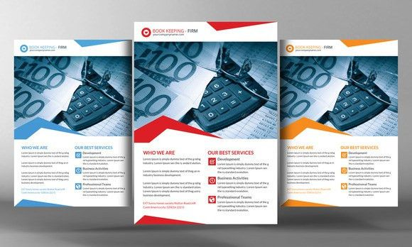 Book Keeping Accounting Service Flye by Business Templates on ...