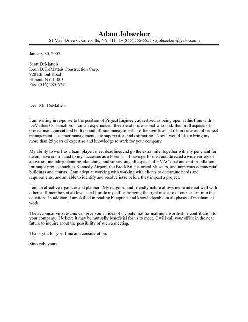 Cover Letter For Maintenance Worker | The Letter Sample