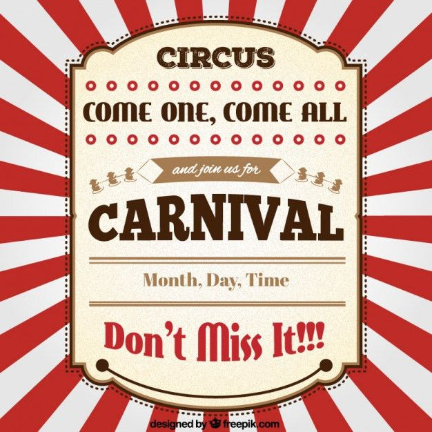Carnival Vectors, Photos and PSD files | Free Download