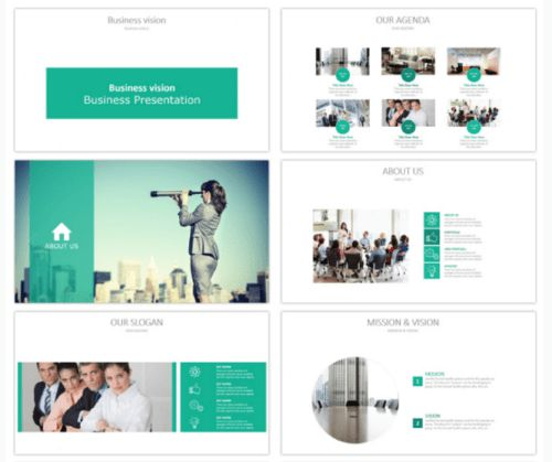 20 Attractive & Professional PowerPoint Templates | Ginva