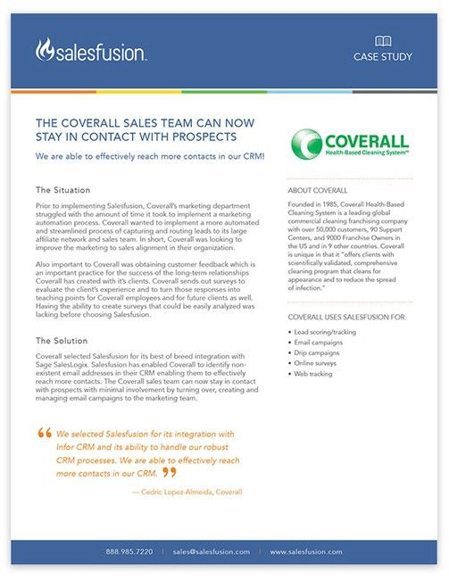Coverall | Salesfusion