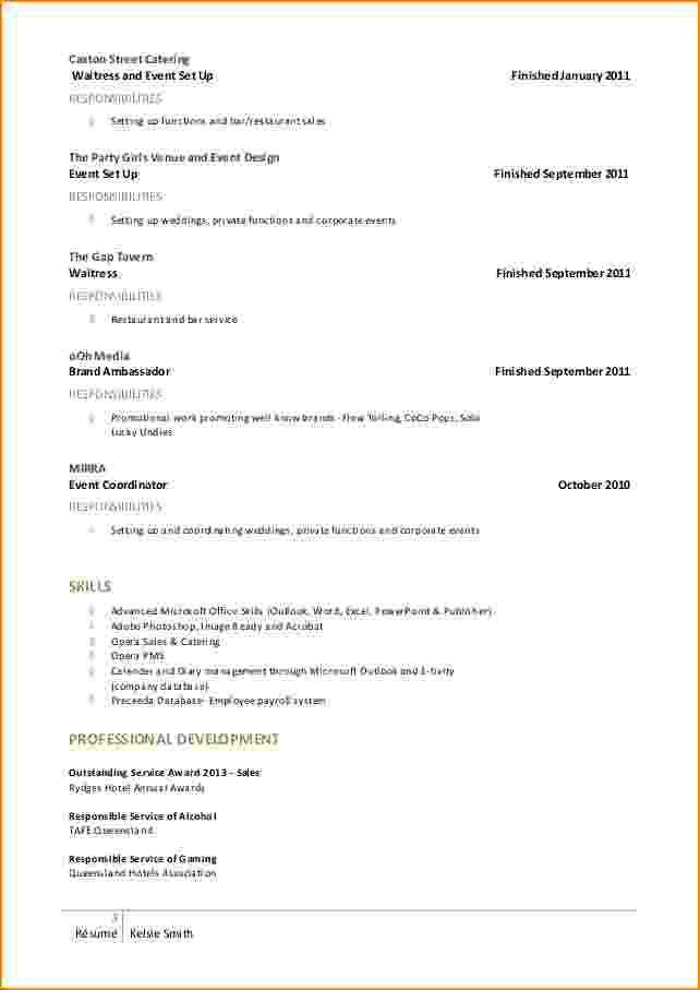 Download How To Set Up Resume | haadyaooverbayresort.com
