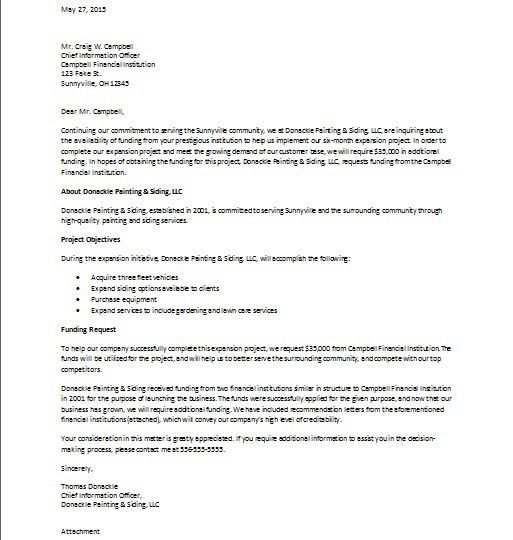 Business Plan Cover Letter Sample Cover Letters Within Business .