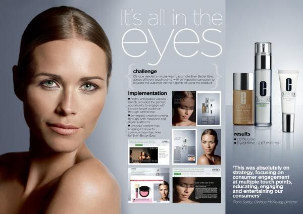 "Clinique: ""GOOD HOUSEKEEPING AND CLINIQUE PARTNERSHIP"" Promo / PR ..."