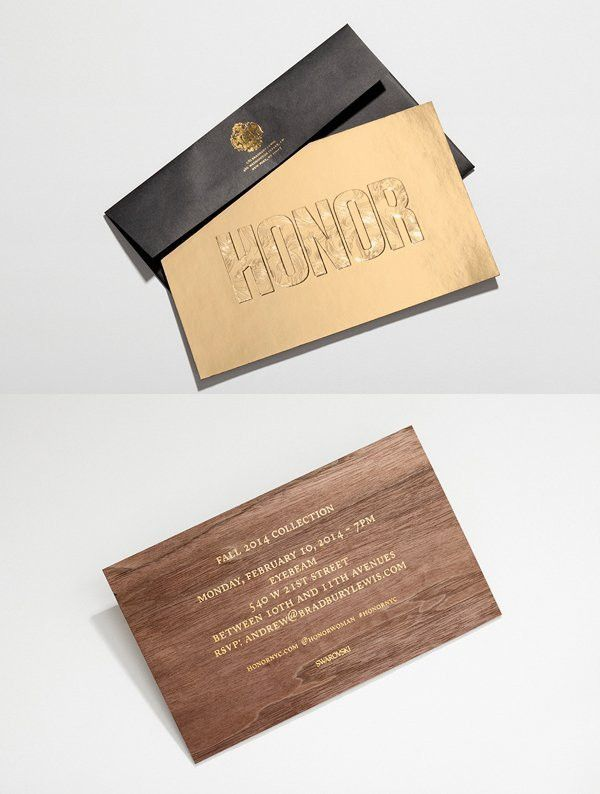 A Showcase of 50 Beautifully Designed Print Invitations To Inspire ...