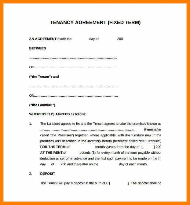 10+ sample tenancy agreement uk | science-resume